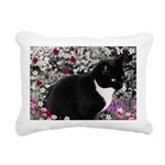 Freckles Tux Cat Rectangular Canvas Pillow