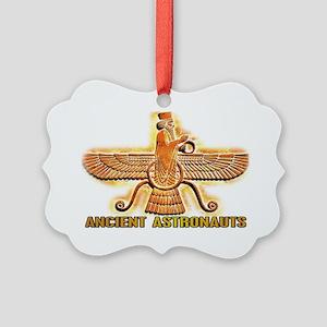 Ancient Aliens Astros Picture Ornament