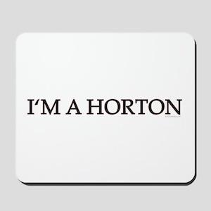 DOOL - I'm A Horton Mousepad