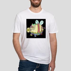 Pig Aloft Fitted T-Shirt