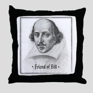 FriendBill Throw Pillow
