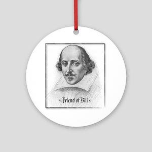 FriendBill Round Ornament