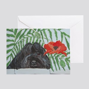 Ruby Red 4x6 Greeting Card