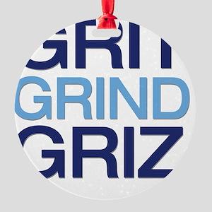 gritgrindgriz Round Ornament