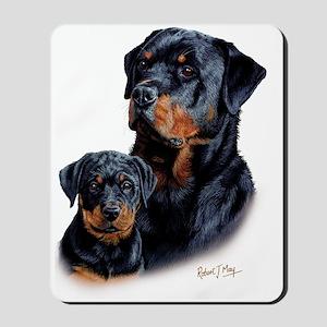 Rottweiler  Pup Mousepad