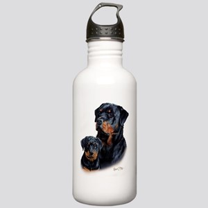 Rottweiler  Pup Stainless Water Bottle 1.0L