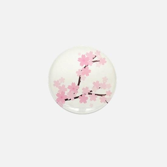 Sakura Mini Button