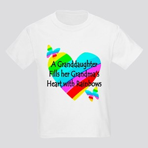 #1 GRANDDAUGHTER Kids Light T-Shirt