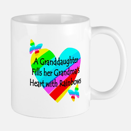 #1 GRANDDAUGHTER Mug
