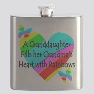 #1 GRANDDAUGHTER Flask