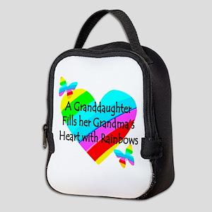 #1 GRANDDAUGHTER Neoprene Lunch Bag