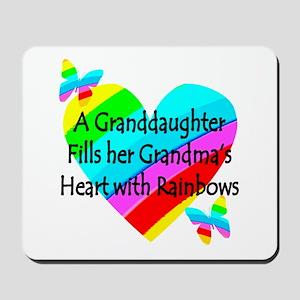 #1 GRANDDAUGHTER Mousepad