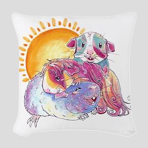 mylittafullgidbold Woven Throw Pillow