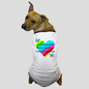 #1 GRANDDAUGHTER Dog T-Shirt