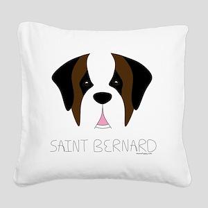 SaintFace Square Canvas Pillow