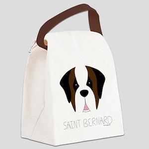 SaintFace Canvas Lunch Bag