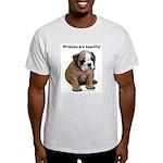 Wrinkles Are Beautiful II Ash Grey T-Shirt