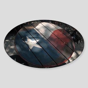Texan Table Sticker (Oval)