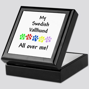 Vallhund Walks Keepsake Box