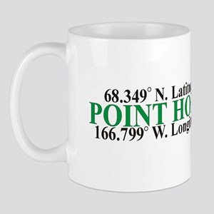 Point Hope Lat-Long Mug