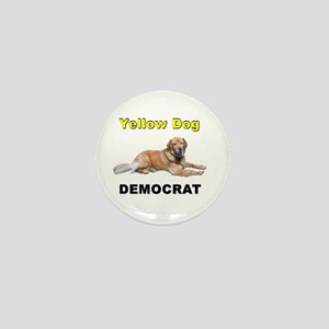 Yellow Dog Democrat Mini Button
