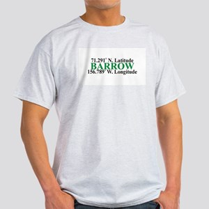 Barrow Lat-Long Ash Grey T-Shirt