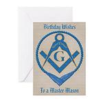 Masonic Birthday Greeting Cards (Pk of 10)