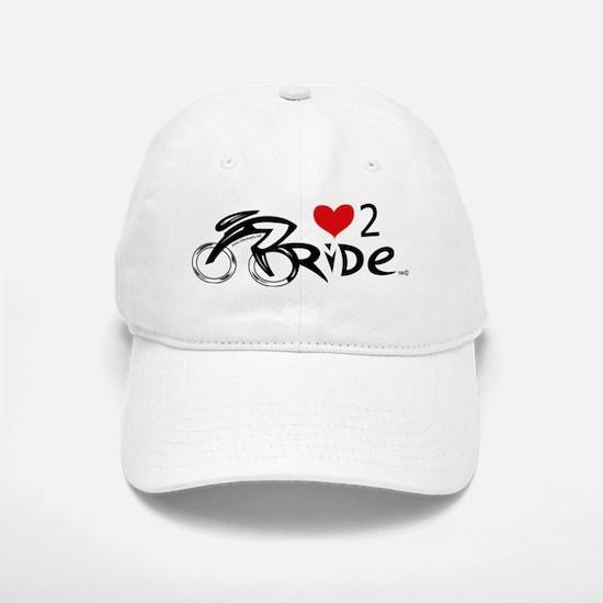 Heart2Ride_2 Baseball Baseball Cap