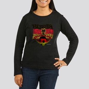 Germany Shatters Soccer Long Sleeve T-Shirt