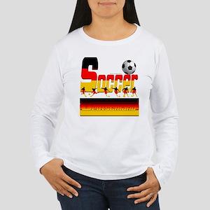 Bold Soccer German Long Sleeve T-Shirt