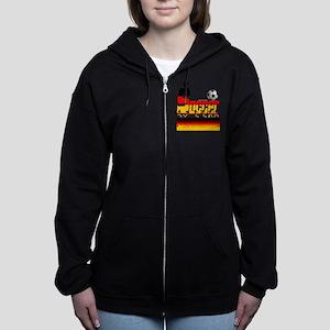 Bold Soccer German Zip Hoodie