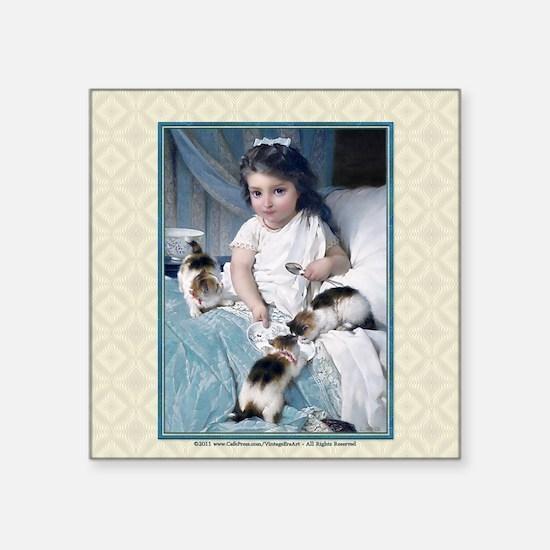 "1 JAN MUNIER-TheMorningMeal Square Sticker 3"" x 3"""