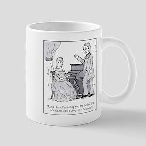 Robert and Clara Schumann Mugs