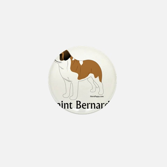 ColorSaintBernard Mini Button