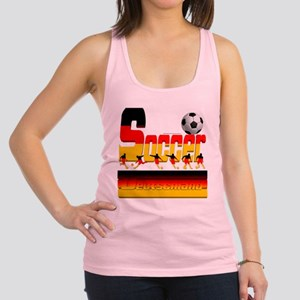 Bold Soccer German Racerback Tank Top