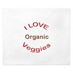 I Love Organic King Duvet