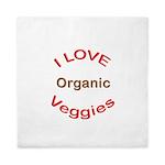 I Love Organic Queen Duvet