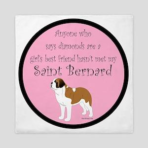 SaintBestFriendinColor Queen Duvet