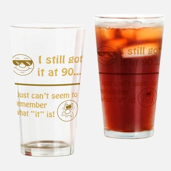 BdayAmnesia90 Drinking Glass