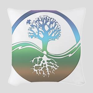 treenearth Woven Throw Pillow