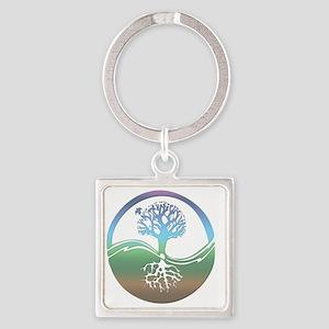 treenearth Square Keychain