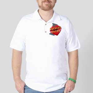 GETTINGEATEN---I-LOVE Golf Shirt