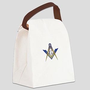Mason care BLK copy Canvas Lunch Bag