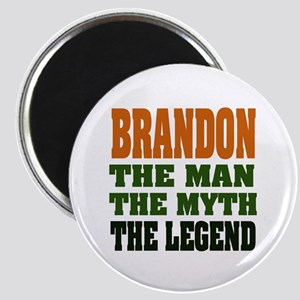 BRANDON - the legend Magnet