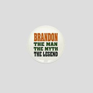 BRANDON - the legend Mini Button