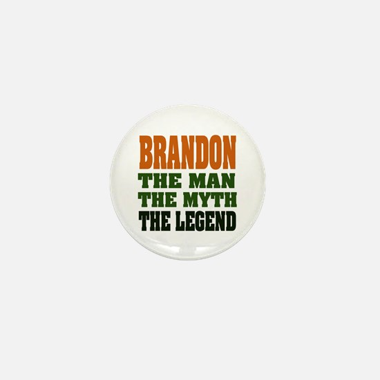BRANDON - the legend Mini Button