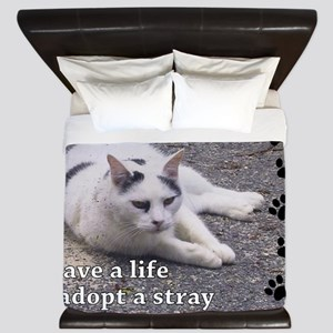 Adopt a Stray King Duvet