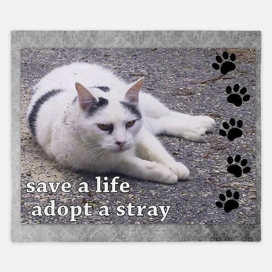 Adopt a Stray King Duvet