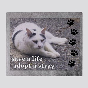 Adopt a Stray Throw Blanket