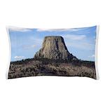 Devils Tower Pillow Case